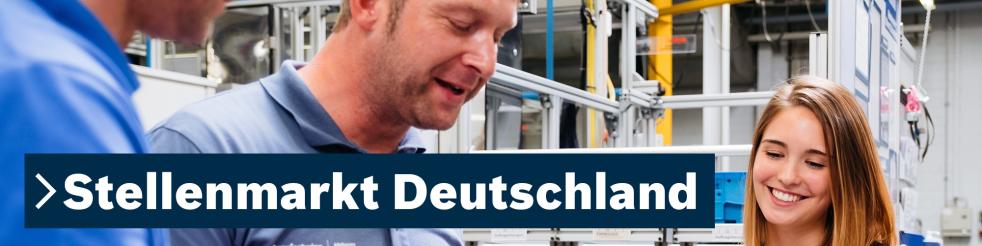 Stellenmarkt Deutschland