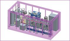 Kundenspezifisch und einbaufertig: Hydraulikcontainer für die Stahlproduktion