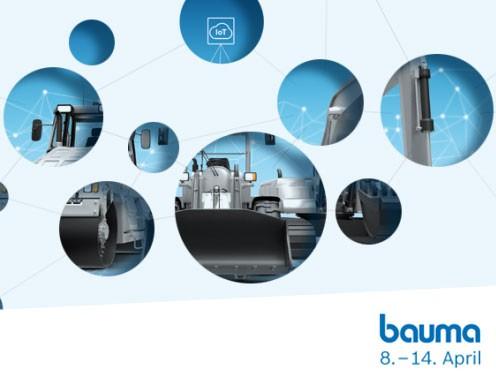 Bosch Rexroth auf der bauma 2019