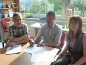 Bosch Rexroth und Grundschule Horb-Dettingen beschließen Bildungspartnerschaft