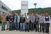 Ausbildungsstart bei Bosch Rexroth in Horb