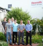 Ausbildungsstart bei Bosch Rexroth in Ketsch