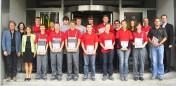 Ausbildungsstart bei Bosch Rexroth in Schweinfurt und in Augsfeld