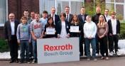 Ausbildungsstart bei Bosch Rexroth in Witten