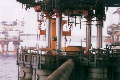 Ekofisk Öl-Feld, August 1987: sechseinhalb Meter bis zur Rettung der Ekofisk