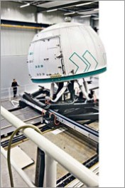 Europas größter Fahrsimulator in Betrieb Verkehrssicherheit und Energieeffizienz im Fokus