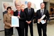 """Bosch Rexroth in Homburg ist """"Familienfreundliches Unternehmen 2012"""""""
