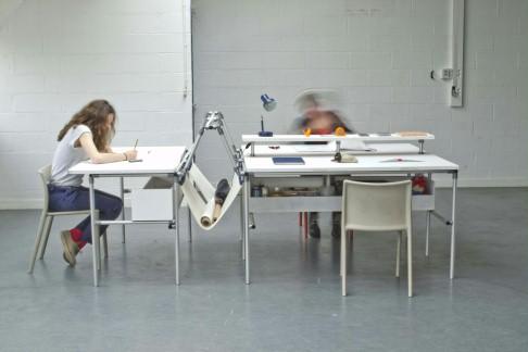 Von der Industrieanlage zum Büro: Design-Studenten setzen EcoShape in einen neuen Kontext