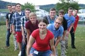 Ausbildungsstart bei Bosch Rexroth in Erbach