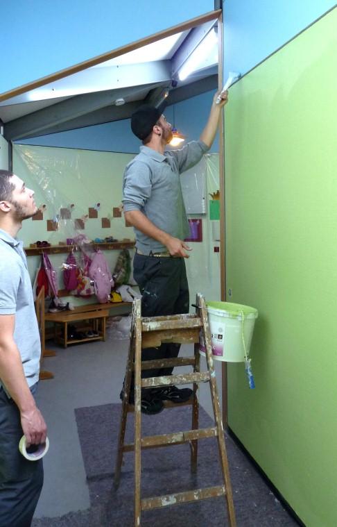 Ketsch: Mit Engagement erstrahlt Kindergarten in neuem Glanz