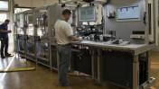 Industrie 4.0-Fertigungslinie