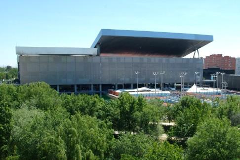 Europas beweglichste Sportstätten nutzen Rexroth-Technik