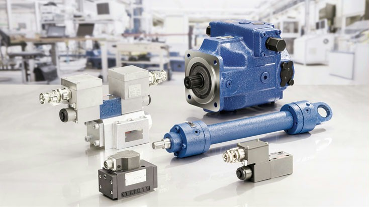 Powerful, highly dynamic, and explosion-proof: Hydraulic and electrical components and systems