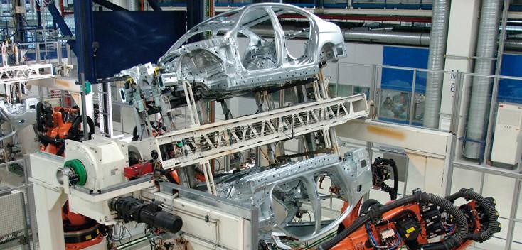 Automobilmontage von Rexroth