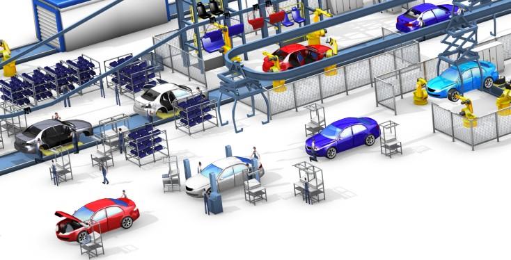 Lösungen für die Automobilendmontage von Rexroth