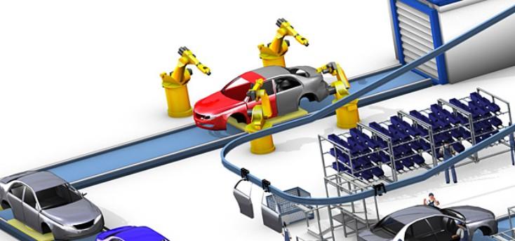 Lackierlinien für die Automobilindustrie von Rexroth