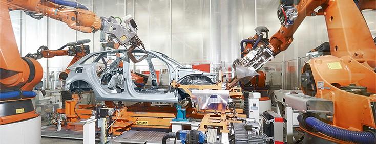 Gedruckte Elektronik mit Bosch Rexroth