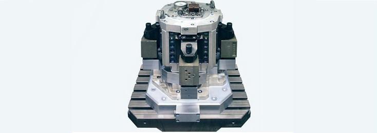 Spannhydraulik für spanende Werkzeugmaschinen