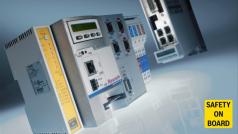 SafeLogic steuert bei komplexen Maschinen und Anlagen, beispielsweise bei Druck- oder Verpackungsmaschinen, die Antriebe sicher an