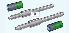 Linearführungen und Kugelgewindetriebe