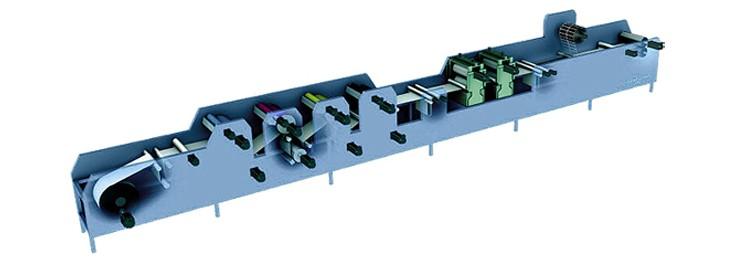 Etikettendruckmaschine von Bosch Rexroth