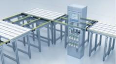 Modulproduktion für die Solartechnik