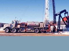 Bohranlagen für Öl und Gas (Landbohrung)