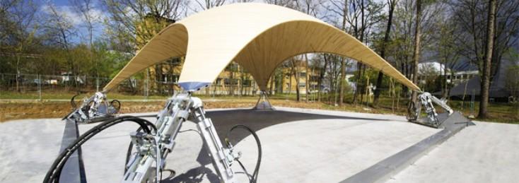 Universität Stuttgart Leichtbauweise mit Rexroth Hydraulik