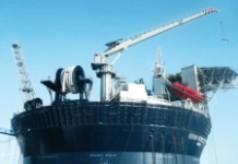 5-Tonnen Kran für FPSO von SEVAN Marine
