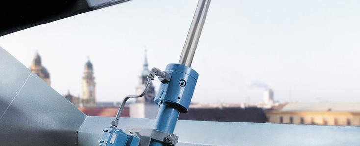 Bosch Rexroth Bühnensicherheit mit Hydraulik