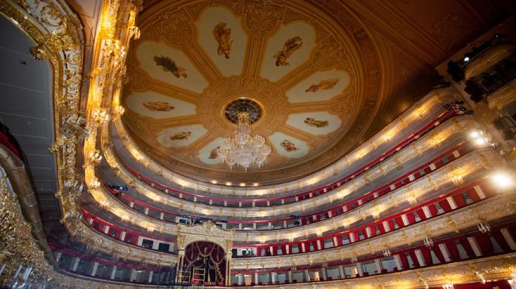 Sanierung des Bolschoi-Theaters von Bosch Rexroth