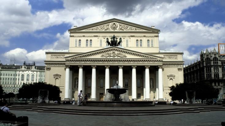 Bolschoi-Theater Bühnentechnik von Bosch Rexroth
