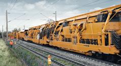 Arbeitshydraulik für Gleisbaumaschinen
