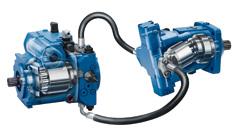 Hydrostatische Fahrantriebe für mobile Arbeitsmaschinen