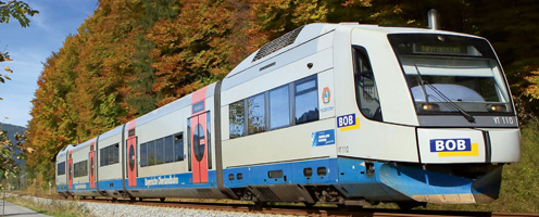 Bayerische Oberlandbahn Hauptuntersuchung Schienenfahrzeuge