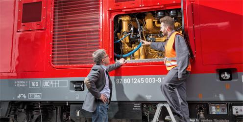 Verkehrstechnik Service für Schienenfahrzeuge