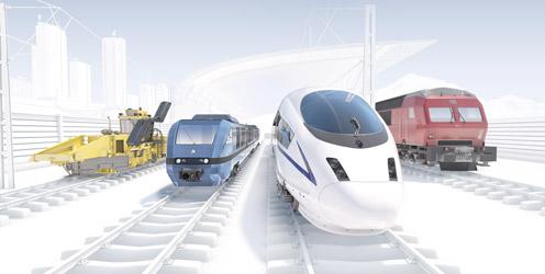 Rexroth Verkehrstechnik Lösungen für Schienenfahrzeuge