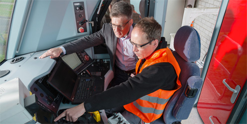 Rexroth Bahntechnik Experten kennen sich im Schienenverkehr aus