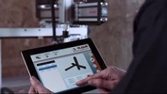 Maschinenbedienung mit Smart-Device