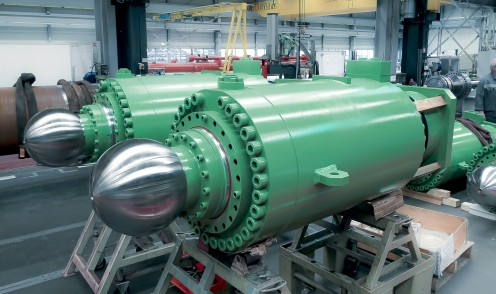 Großer hydraulischer Metallurgiezylinder