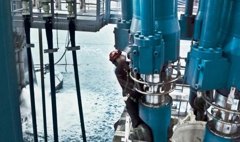Große hydraulische Offshore-Zylinder