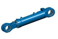 Großer hydraulischer Rumpfklappenzylinder