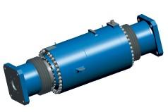Großer hydraulischer Pfannendrehturmzylinder