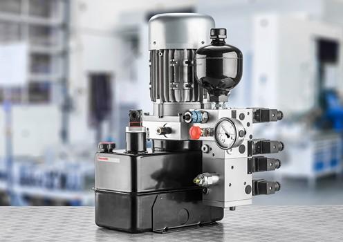 Energiesparende Aggregate für die Industrie von Bosch Rexroth