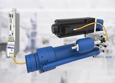 Servo-hydraulische Achse
