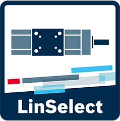 Icon des Auswahl und Auslegungstools LinSelect