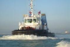 Bugstrahlruder für Schleppschiffe