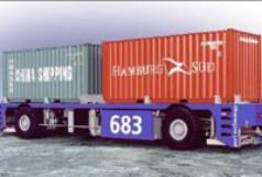 Fahrerloser Containertransporter CT60