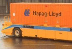 Fahrerloses Containertransportsystem AGV