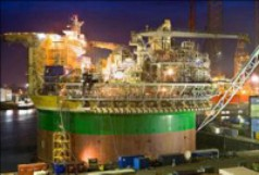 Kranantrieb für Öltankplattform